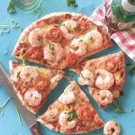 Giannis Garlic Prawn Pizza